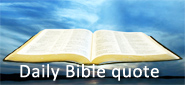 Daily Bible Quote